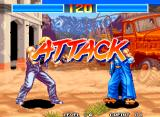 Aggressors of Dark Kombat Neo Geo ATTACK
