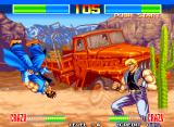 Aggressors of Dark Kombat Neo Geo Gameplay