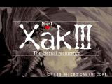 Xak III: The Eternal Recurrence FM Towns Title screen