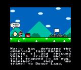 Super Mario World SNES Let's go to the Donut Land