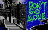 Don't Go Alone DOS Main Title (EGA/VGA)