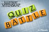Science Illustrated Quiz Battle iPhone Title screen (Norwegian version)