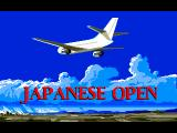 Advantage Tennis FM Towns Flying to Japanese Open