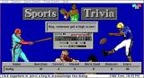 Sports Trivia DOS At the end of the game a player may have a high score, in which case this screen is seen.