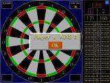 R.S.A Darts DOS The announcement of the winner is also nice and clear. I think I was player 1.
