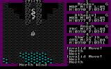 Exodus: Ultima III DOS This great snake blocks the way... Getting rid of it is one of main puzzles in the game.