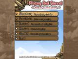 Flying Red Barrel ~Diary of a Little Aviator~ Windows Main menu (English version)