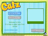 Catz Windows This is how the game looks at the very beginning, before a cat has been selected.