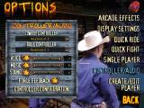 Professional Bull Rider 2 Windows Options