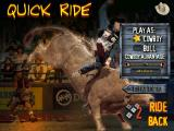 Professional Bull Rider 2 Windows Quick Ride Options