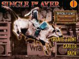 Professional Bull Rider Windows Single Player menu