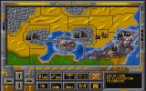 Cyber Empires DOS Main Game Screen