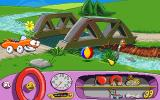 Putt-Putt Joins the Parade DOS One of the beautiful sceneries in the game