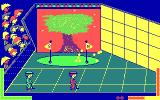Double Dare DOS Hole in One - Red Player win (CGA original)