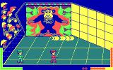 Double Dare DOS Red Player win (CGA original)