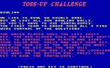 Double Dare DOS Introduction Toss-Up Challenge - Bowling (CGA original)