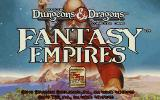 Fantasy Empires DOS Title Screen