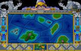Fantasy Empires DOS Main Game Screen