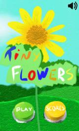 Tiny Flowers Android Title screen