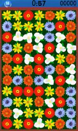 Tiny Flowers Android A game in progress: there are many possible matches.