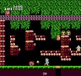 Seikima II: Akuma no Gyakushū NES Throwing a rock at an enemy