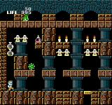 Seikima II: Akuma no Gyakushū NES Zone 3 takes place in some ancient ruins