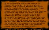 The Seven Spirits of Ra DOS Introduction