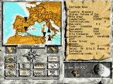 Hannibal DOS Main Game Screen