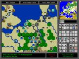 High Command: Europe 1939-'45 DOS Main Game Screen