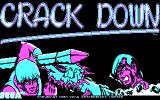 Crack Down DOS Title Screen 1 (CGA)