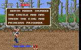 Golden Axe DOS Start Stage 1 with message