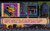 Quest for Glory III: Wages of War DOS Uhura visits the liontaur family
