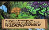 Quest for Glory III: Wages of War DOS One of the caves inside the giant tree