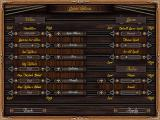 Age of Sail II Windows Options screen