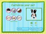 Dogz Windows Once a breed has been selected its gender, hair colour and collar can be changed.