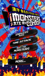 Monsters Ate My Condo Android Main menu