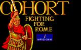 Fighting for Rome DOS Title Screen