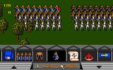 Fighting For Rome DOS Main Game Screen