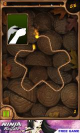 Burn the Rope Android A simple puzzle in the tutorial section (Free-to-play version)