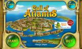Call of Atlantis Android Main menu