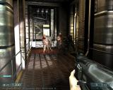 DOOM³: BFG Edition Windows The Lost Mission - zombie crowd. Now the flashlight can be used together with a weapon