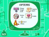 The Powerpuff Girls Learning Challenge #2: Princess Snorebucks Windows This is the game options screen. There's not a lot to change here really.
