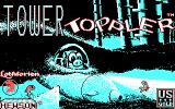 Tower Toppler DOS Title screen 1 (CGA)