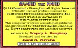 Avoid the Noid DOS Game info. (EGA)