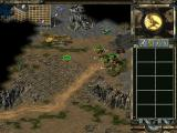 Command & Conquer: Tiberian Sun (Demo Version) Windows A dropship brings in some reinforcements against the Nod combatants.
