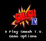 Smash T.V. Game Gear Menu