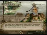 Dynasty Warriors 5: Xtreme Legends PlayStation 2 The mission briefing.