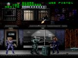 RoboCop Versus the Terminator SNES The criminal element in Old Detriot seems to consist solely of uzi-wielding babes in tight vinyl outfits