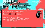 Airborne Ranger DOS Mission Difficulty (CGA Original)