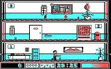 Avoid the Noid DOS Delivering a pizza (CGA)